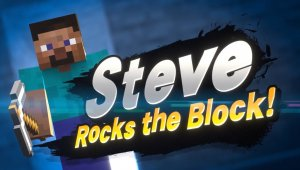 Super Smash Bros Ultimate; Steve y Alex de Minecraft anunciado como nuevo luchador