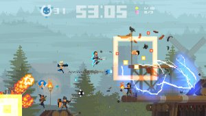 Shuhei Yoshida y Sir Galahad serán personajes jugables en Super Time Force Ultra
