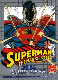 Superman: The Man of Steel Game Gear