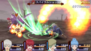 Gameplay de Tales of Innocence R