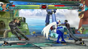 Tatsunoko Vs. Capcom jugable en la Games Japan Festa