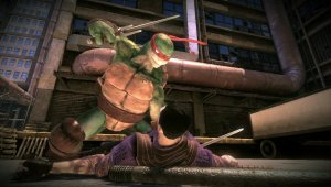 Gameplay de Teenage Mutant Ninja Turtles: Desde las Sombras