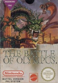 The Battle of Olympus NES