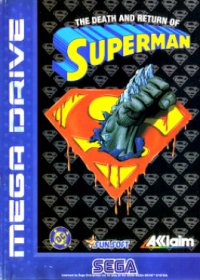 The Death and Return of Superman Mega Drive