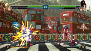 Atlus explica el contenido del parche de 'King of Fighters XIII'