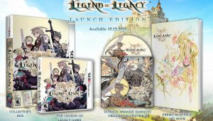 Confirmada una edición limitada de The Legend of Legacy para América