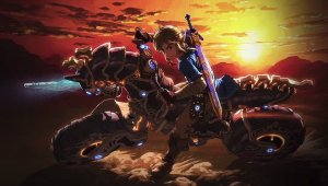 Zelda Breath of the Wild; vencen a Ganon usando la Moto Hyliana