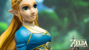 Breath of the Wild: First 4 Figures anuncia una nueva figura de Zelda
