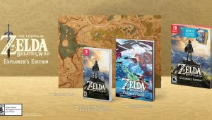 Nintendo presenta la Edición Explorador de The Legend of Zelda: Breath of the Wild [NA]