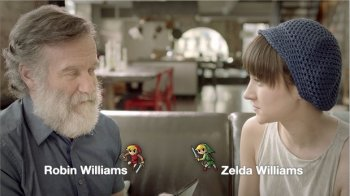 Robin y Zelda Williams promocionan Zelda: Four Swords