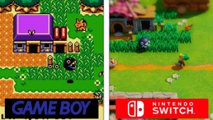Zelda Link's Awakening; todas las diferencias entre Game Boy y Nintendo Switch