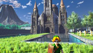 Zelda Ocarina of Time: Contempla Hyrule como nunca la has visto