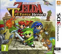 The Legend of Zelda: Tri Force Heroes Nintendo 3DS
