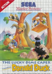 The Lucky Dame Caper Starring Donald Duck Master System