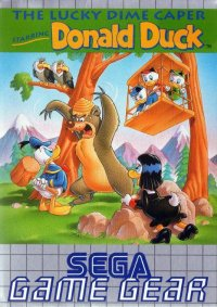 The Lucky Dame Caper Starring Donald Duck Game Gear