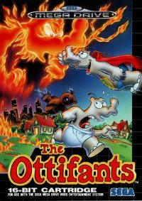 The Ottifants Mega Drive