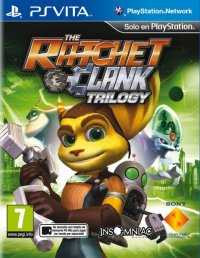 The Ratchet & Clank Trilogy PS Vita