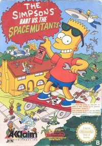 The Simpsons: Bart vs. the Space Mutants NES