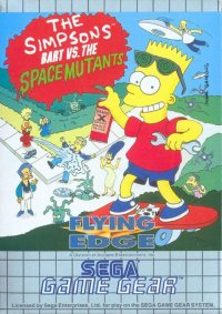 The Simpsons: Bart vs. the Space Mutants Game Gear