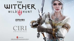 Ciri, de The Witcher 3, inmortalizada con esta imponente figura