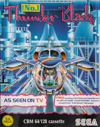 Thunder Blade Commodore 64
