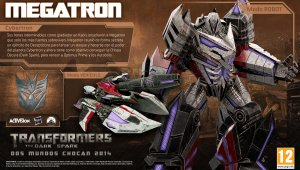 Megatron se deja ver en Transformers: The Dark Spark