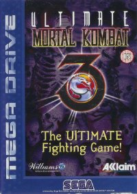Ultimate Mortal Kombat 3 Mega Drive