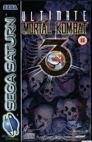 Ultimate Mortal Kombat 3 Sega Saturn