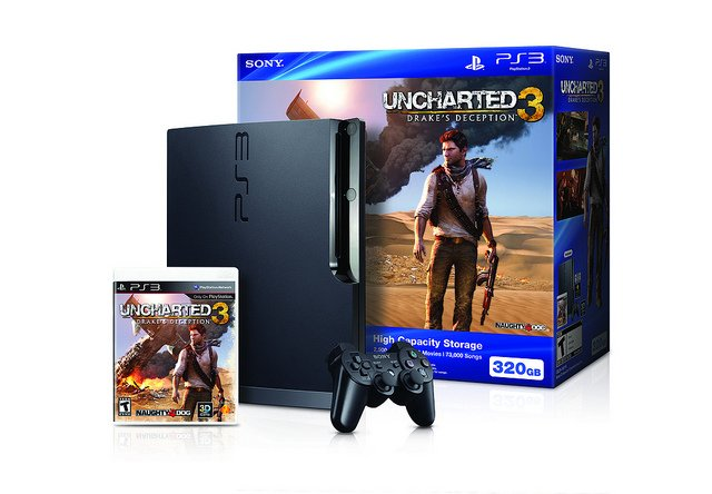 Uncharted 3 Pack PS3
