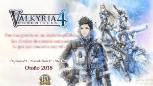 Valkyria Chronicles 4 llegará a Nintendo Switch, PS4 y Xbox One en otoño