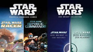 Star Wars: Jedi Knight Collection y Racer and Commando llegarán a Switch y PS4