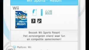 ¿Wii Sports Resort con WiiConnect24?