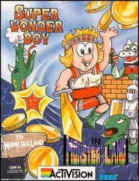 Wonder Boy in Monster Land Commodore 64