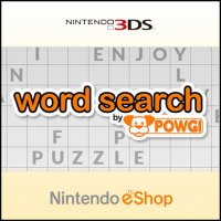 Word Search by Powgi Nintendo 3DS