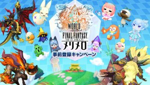Square Enix anuncia World of Final Fantasy: Meli-Melo y muestra su primer tráiler