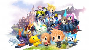 Sora, de Kingdom Hearts, aterriza en World of Final Fantasy