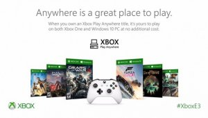 El programa Xbox Play Anywhere busca el apoyo de las third party