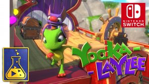 Disponible la pre-descarga de Yooka Laylee en Nintendo Switch; esto es lo que ocupa