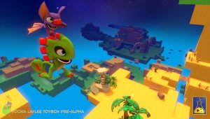 Yooka-Laylee; ya disponible en PC la demo Toybox