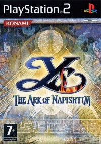 Ys: The Ark of Napishtim Playstation 2
