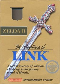 Zelda II: The Adventure of Link NES
