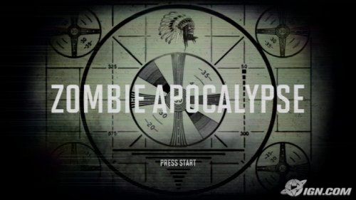 zombie Apocalypse Main Screen [1]