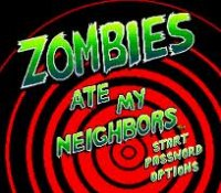 Zombies Ate My Neighbors Wii