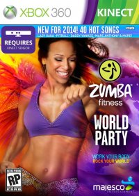 Zumba Fitness World Party Xbox 360
