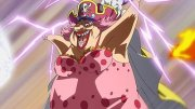 ¡Huida de la fiesta de té! Luffy contra Big Mom