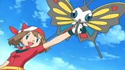 Ash and May! Heated Battles of Hoenn!!