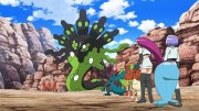 The First Visit to the Unova Region! Raid Battle at the Ruins!!