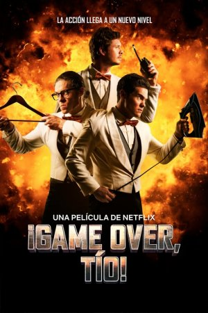 Póster ¡Game Over, Tío!