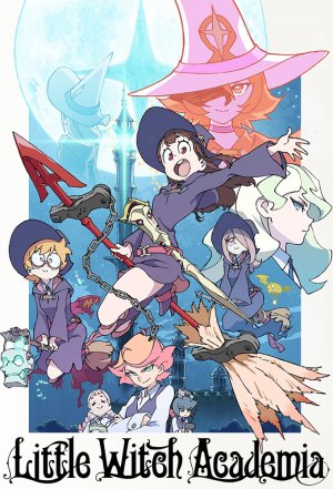Póster Little Witch Academia