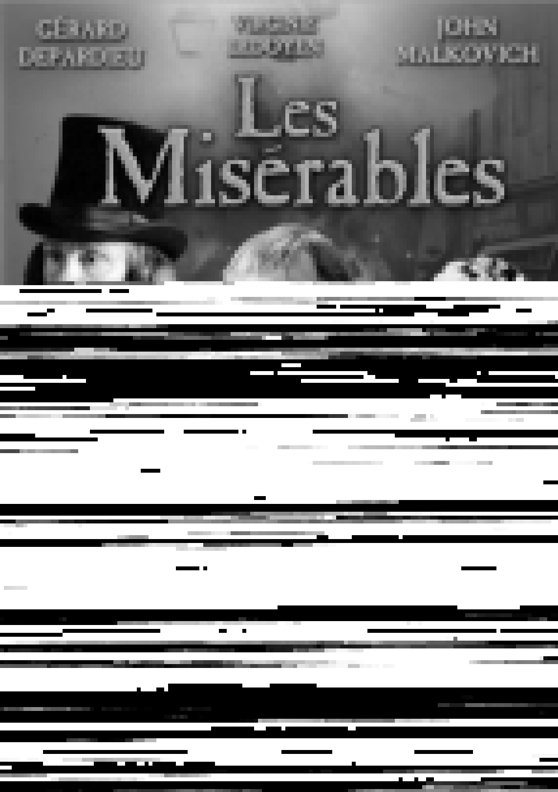 Los Miserables' />